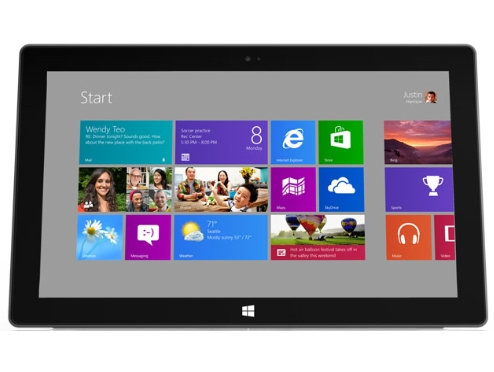 Microsoft Surface Tablet - Windows 8