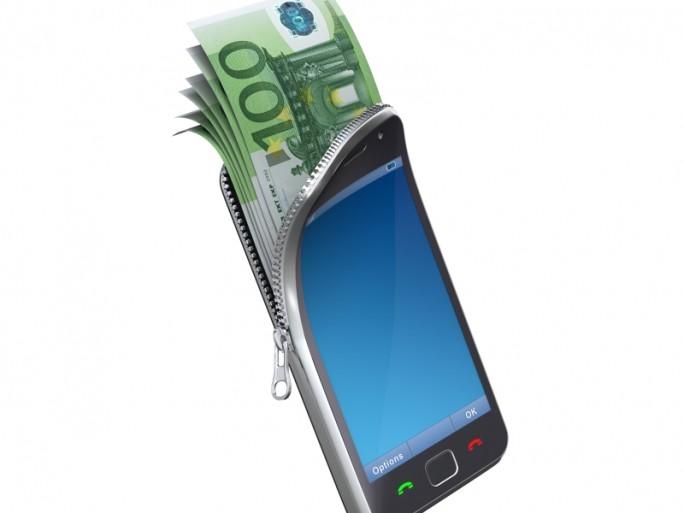 smartphone, argent