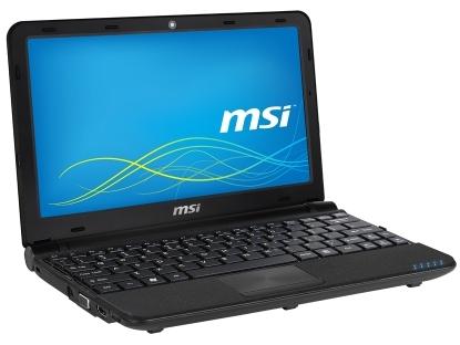 MSI U180 netbook Atom