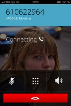 Firefox OS appel sortant