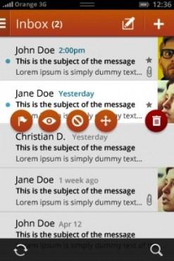 Firefox OS inbox