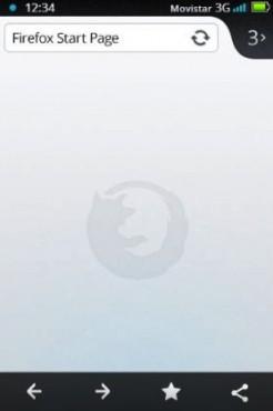Firefox sur Firefox OS