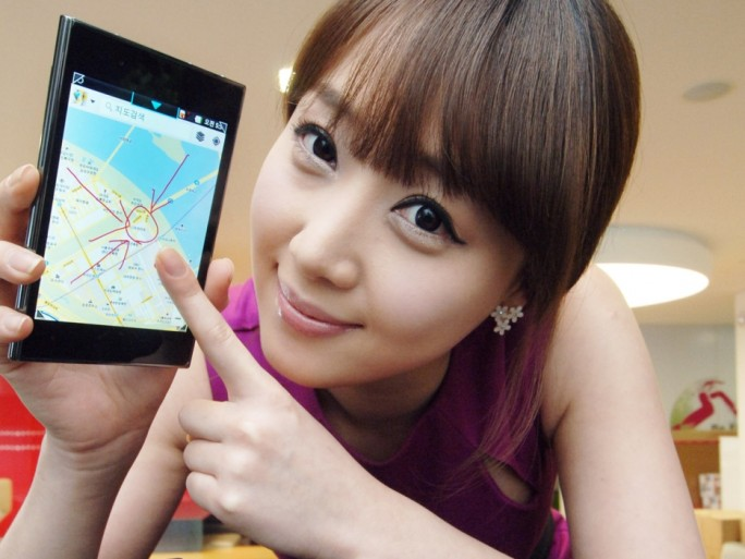 LG Optimus Vu quadri coeur 5 pouces