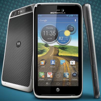 Motorola Atrix HD smartphone Android 4.0