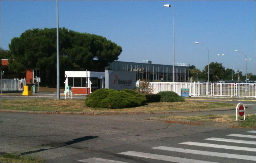 Freescale Toulouse, site en friche