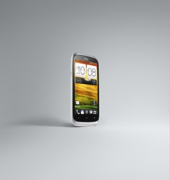 HTC Desire X White 3-4 Right Front