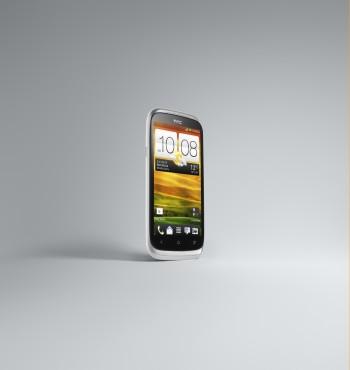 HTC Desire X White 3-4 Right Front