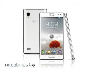 LG Optimus L9 face