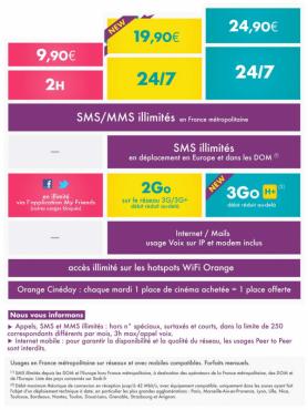 Forfaits Sosh au 2012-08-23