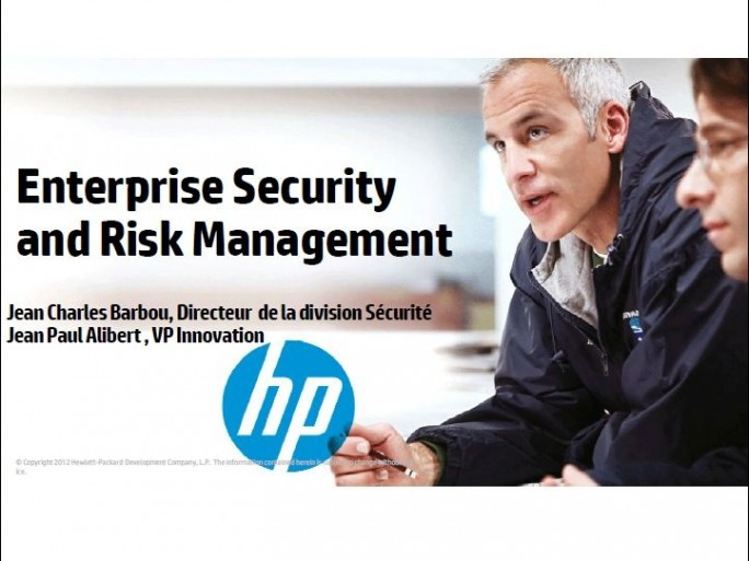 Annonces HP security, 10 Sept. 2012