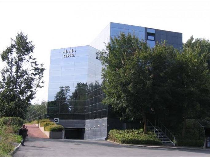 Cisco Lab, nouvel immeuble sur le campus Lysaker, ex-Tandberg