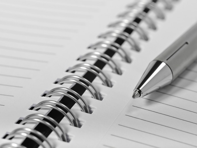 Ecriture, cahier, carnet © Apostolos Diamantis - Shutterstock