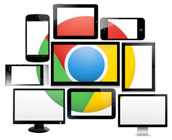 Google Chrome devices © Google