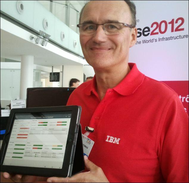 IBM Tivoli Smart Cloud Application Manager sur tablette