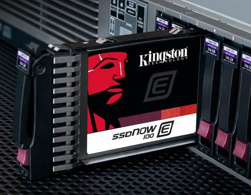 SSDNow E100 © Kingston Technology