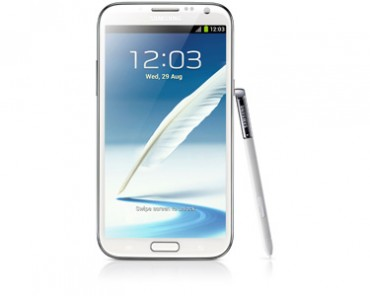 samsung galaxy note 2 andoid jelly bean 4.1 stylet © Samsung