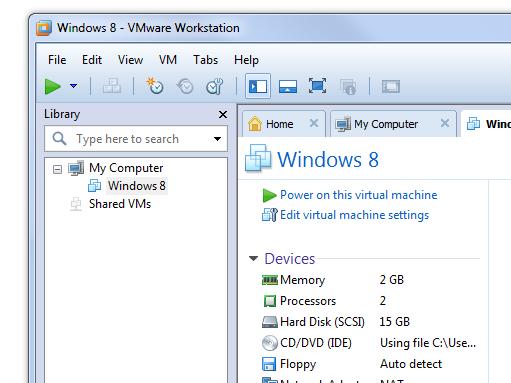 VMware Workstation 9 © Silicon