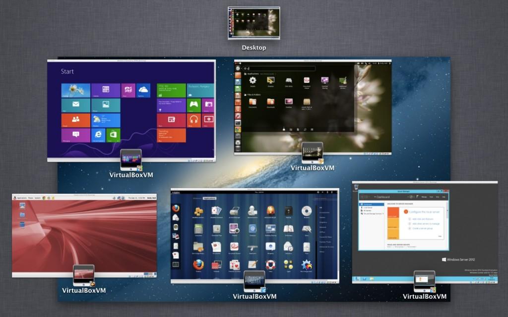 VirtualBox 4.2 © Oracle