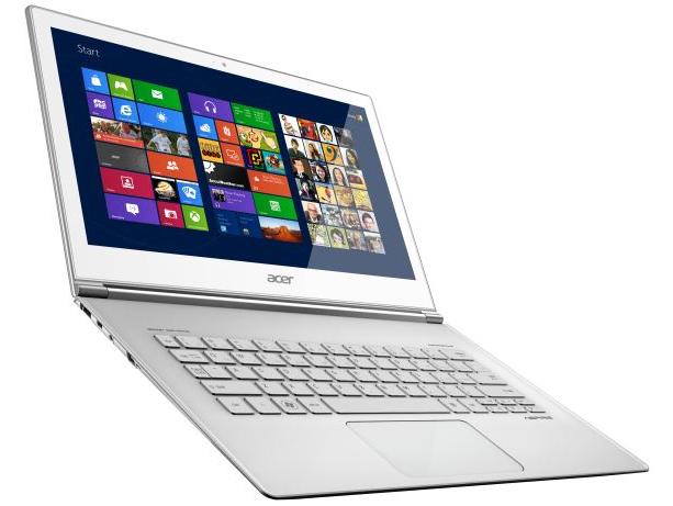 Acer Aspire S7 ultrabook tactile Windows 8