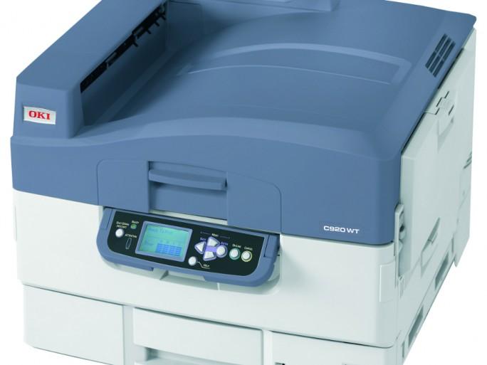 OKI C920WT imprimante LED toner blanc