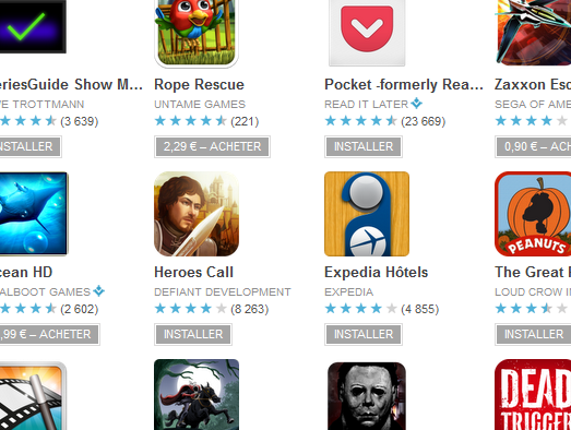 Google Android Play Applications