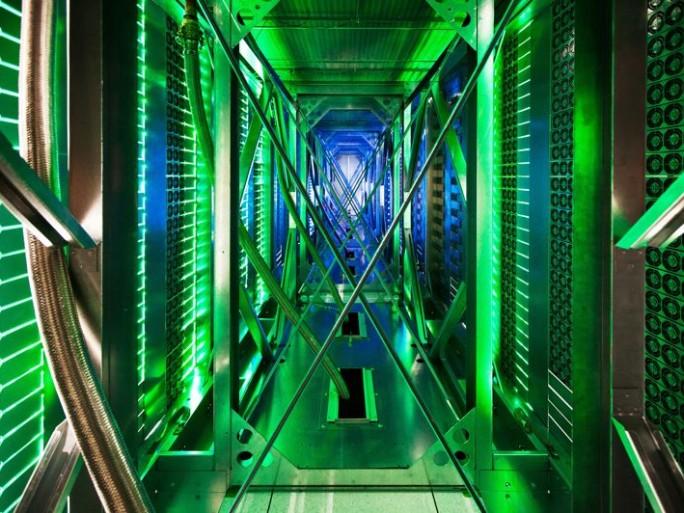 Centre de données du Comté de Mayes, Oklahoma (crédit photo © Google Connie Zhou)