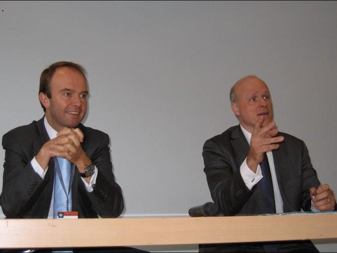 Convention USF SAP Dijon 2012, H van der Vaeren et C Molly Mitton