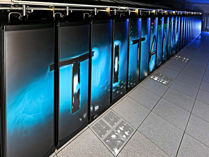 Cray Nvidia Titan supercalculateur 20 pétaflops © Oak Ridge National Laboratory