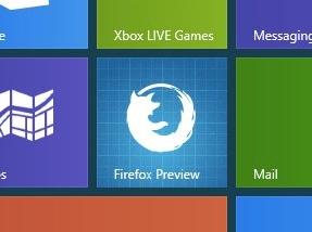 Firefox Metro Mozilla navigateur © Mozilla