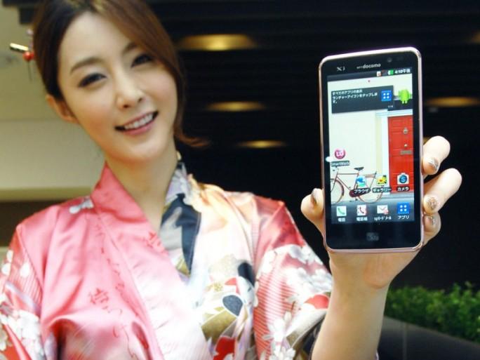 LG smartphones (crédit photo © LG Electronics)