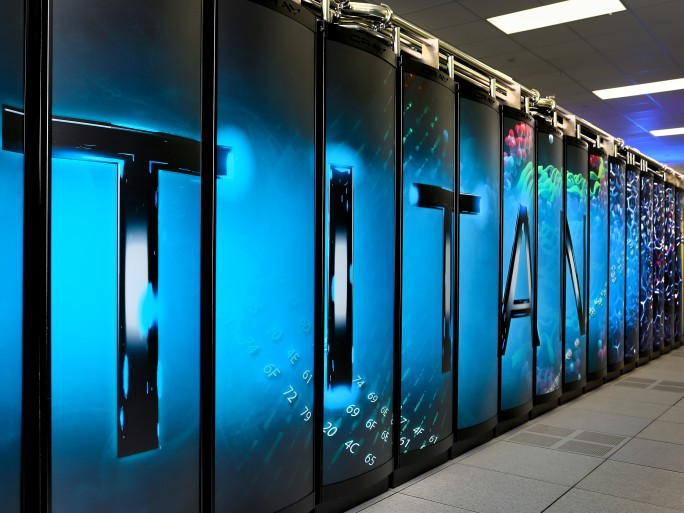 Titan - 9 © Oak Ridge National Laboratory