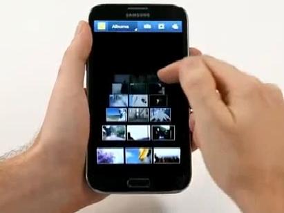 Vidéo, Samsung Galaxy Note 2 © Samsung