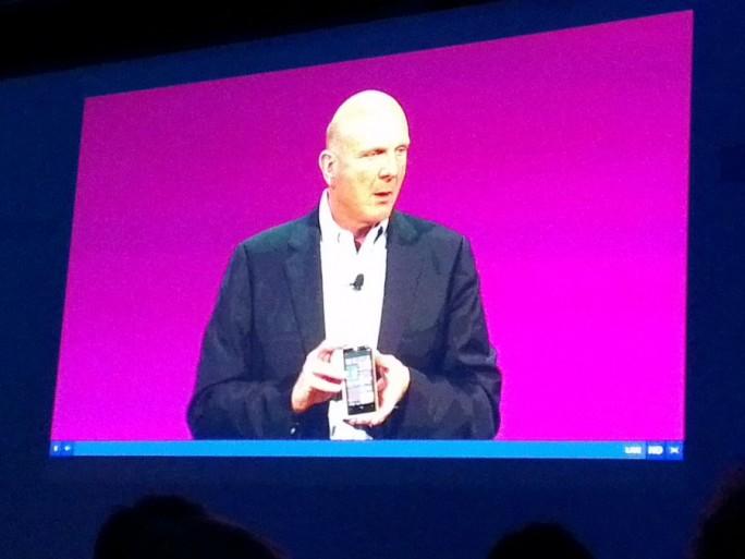 Windows phone 8 Steve Ballmer