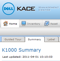 dell kace 1000 appliance gestion systemes