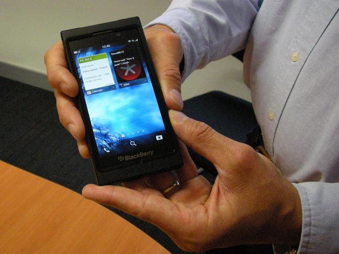 David Derrida RIM BlackBerry 10 developpeurs