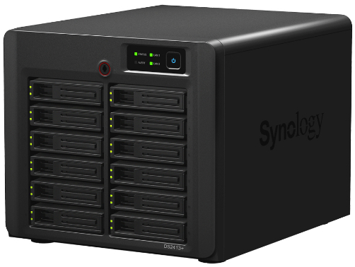 Synology DS2413+ NAS 12 baies