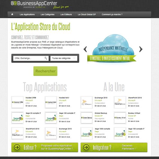 Global SP BAC app-store