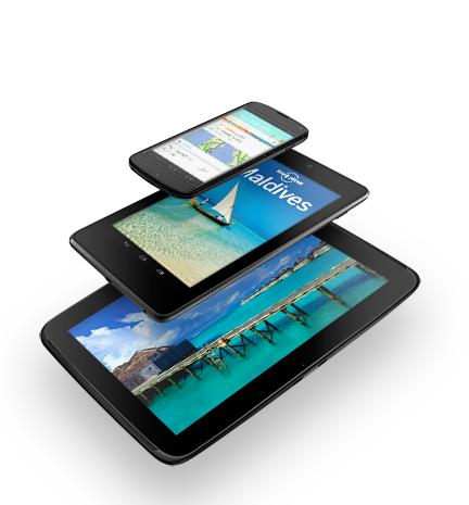 Google Nexus Android rupture © Google