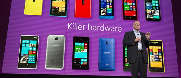 Microsoft Windows Phone 8 Steve Ballmer