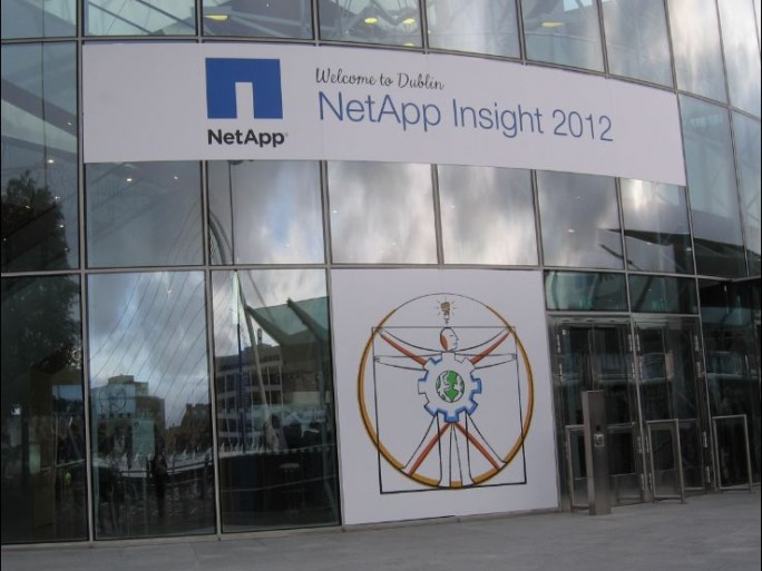 NetApp Insight 2012, Dublin