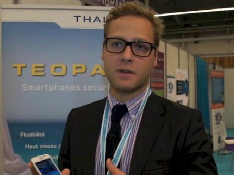 Raphael Darkek, Thales, Teopad, vidéo © Silicon.fr