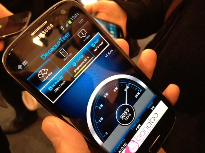 SFR 4G débits