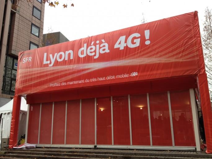 SFR Lyon 4G