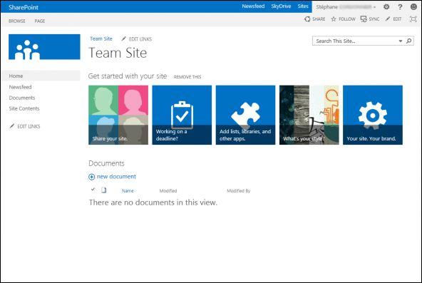 Microsoft Sharepoint 2013 : réseau social, cloud et mobilité
