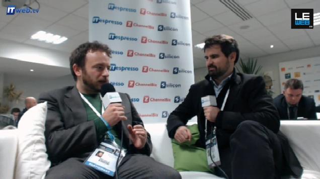 LeWeb 2012, vidéo, Spazio Dati © NetMediaEurope
