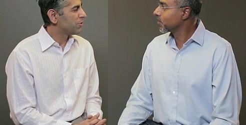 Sumit Dhawan (DG division Mobile de Citrix) et Amit Pandey (PDG de Zenprise)