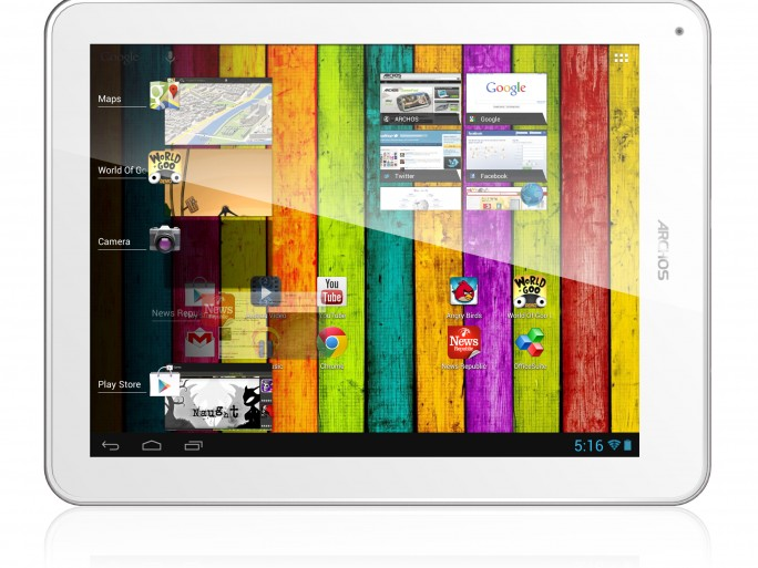 Archos : 97 Titanium HD (crédit photo Archos)