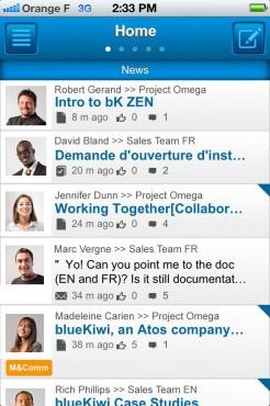 BlueKiwi, un réseau social d'entreprise