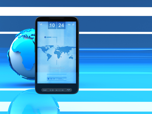 smartphone monde internet mobile (crédit photo © digieye - shutterstock)