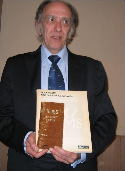 35 ans de VMS_Christian Levrey (CCLC) et ses reliques VMS